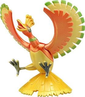 Ho-Oh peraly figure Takara Tomy Monster Collection EHP series