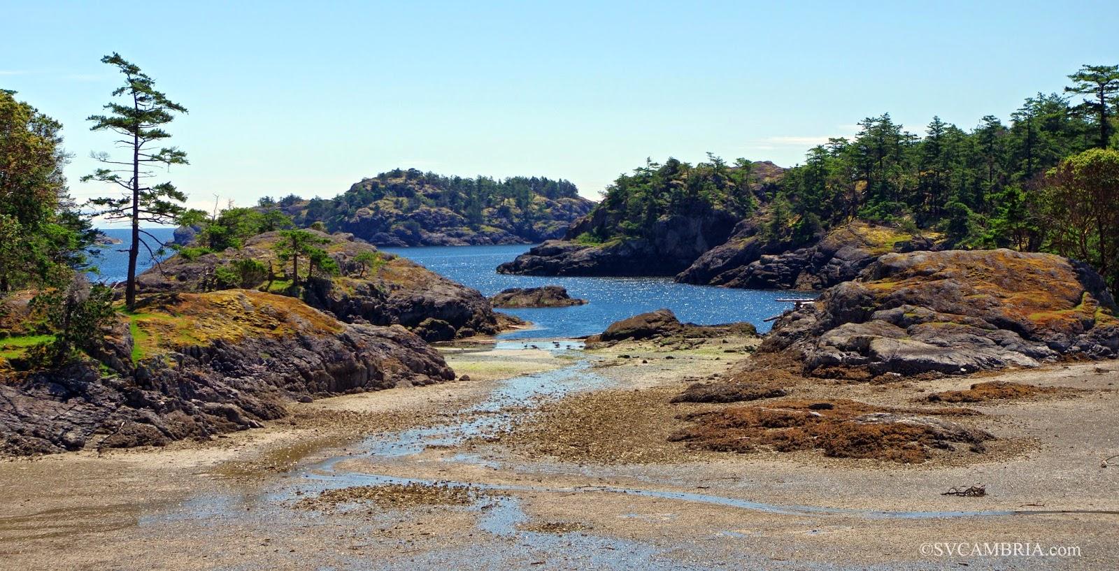 Home Bay, Jedediah Island, BC.