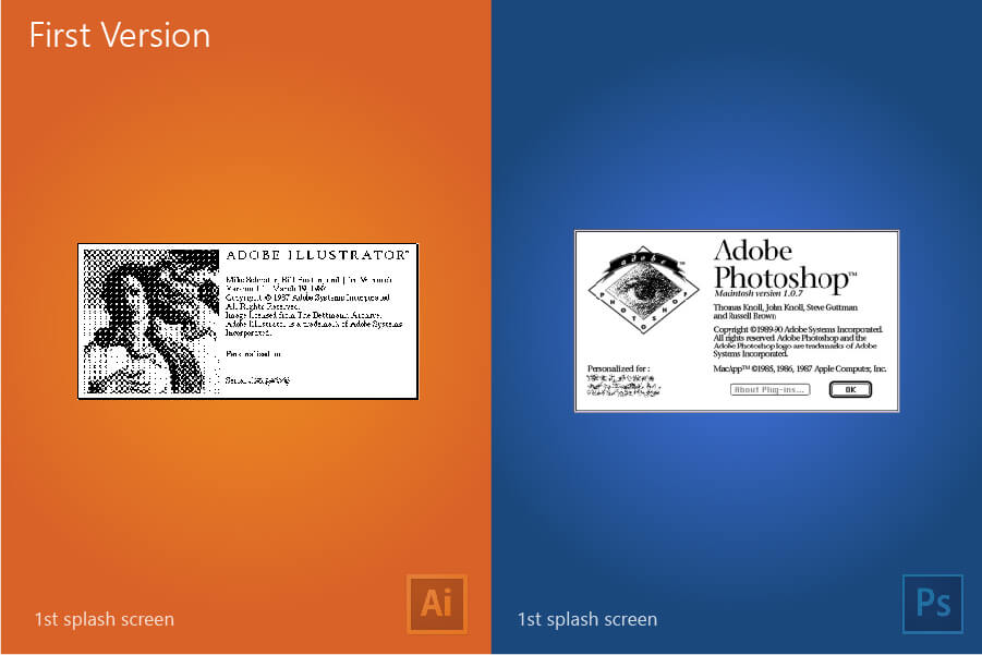 Illustrator vs Photoshop Adobe