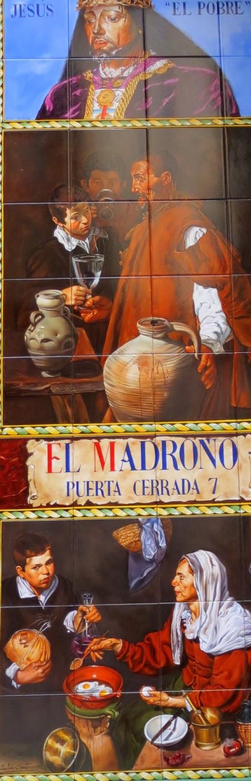 Puerta Cerrada, 7. Azulejos Julián Santa Cruz