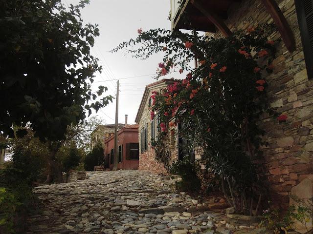Domatia'nın sokakları
