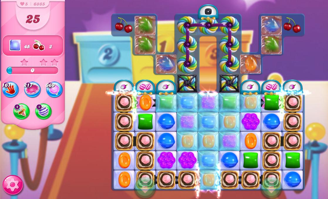 Candy Crush Saga level 6865