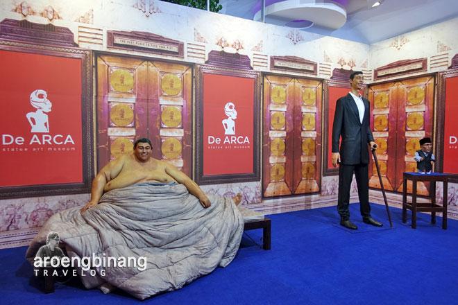 de arca statue art museum yogyakarta