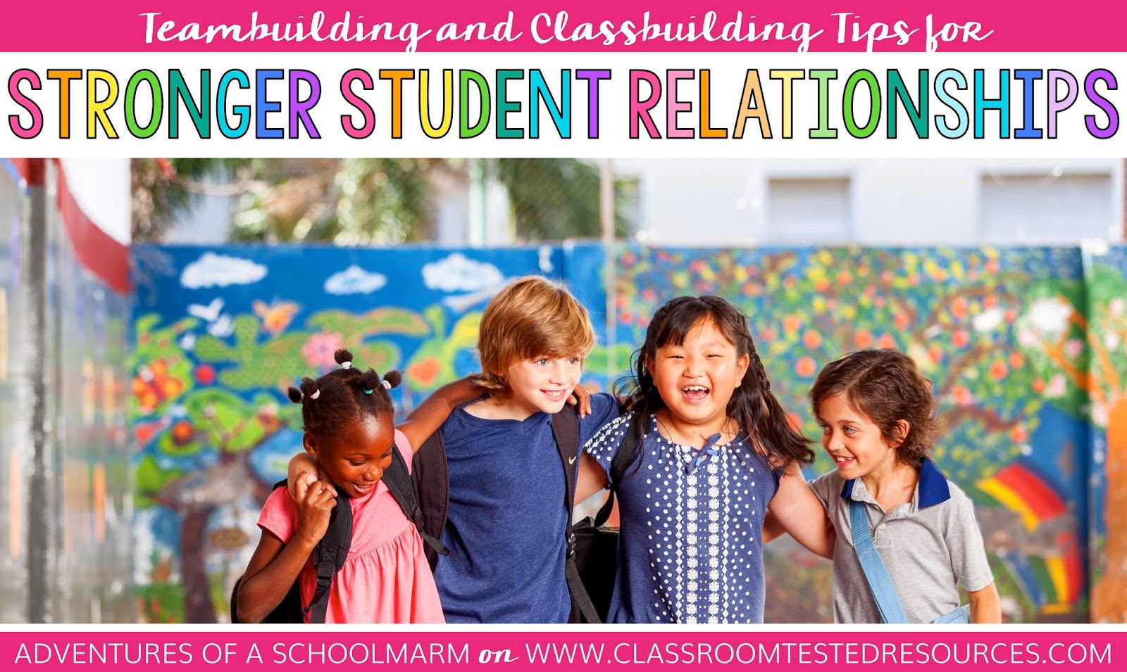 Teambuilding and Classbuilding ideas to help your students feel valued and important to the class.