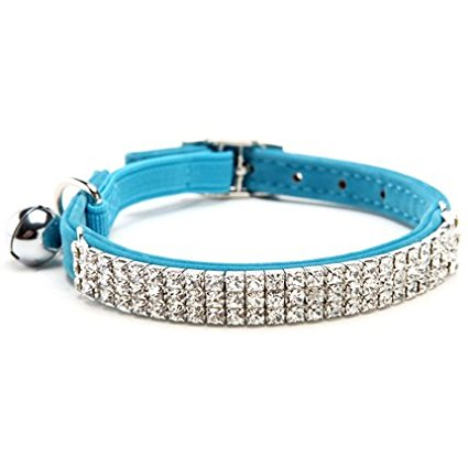 Beautiful Diamante Cat Collar