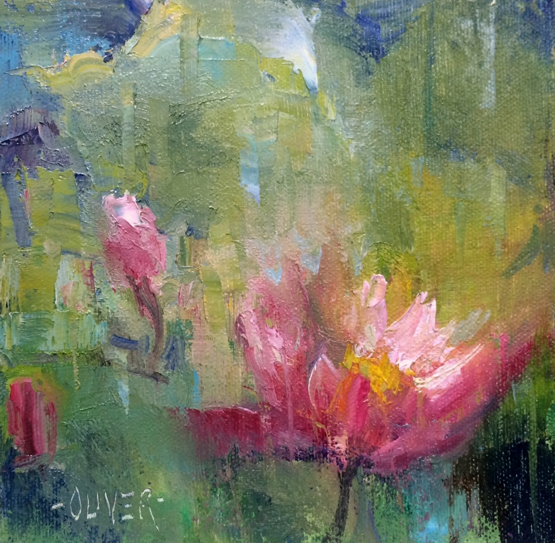 Art Talk - Julie Ford Oliver: The Water Lily