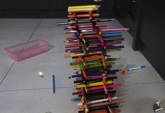 Kegunaan Lain Pensel Warna, Boleh Buat Sukaneka