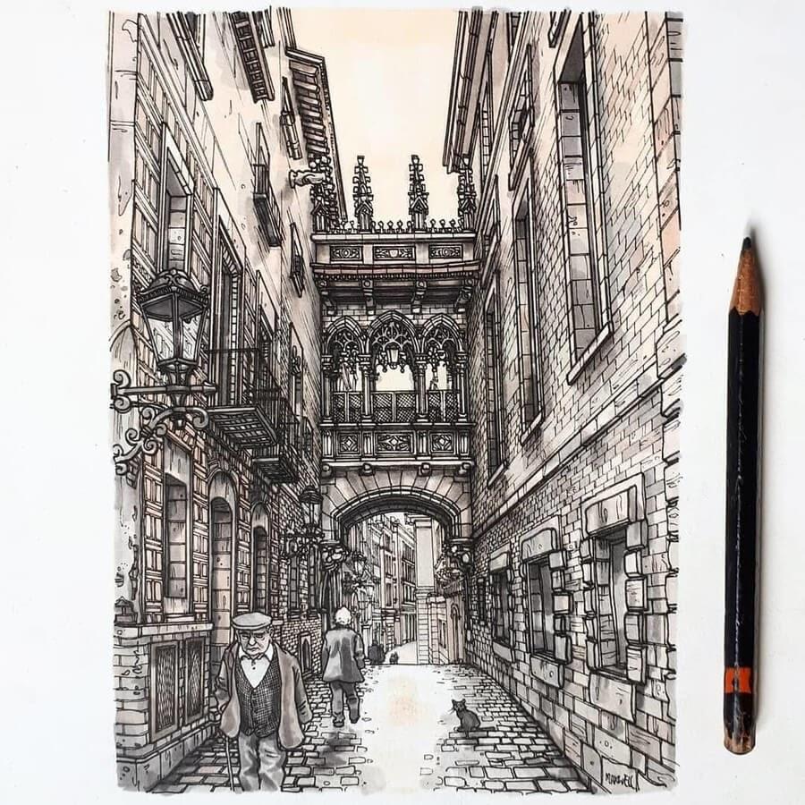 01-Gothic-Carrer-del-Bisbe-Maxwell-Tilse-www-designstack-co