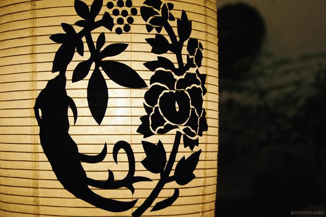 由志園 池泉牡丹 島根県 花 日本庭園 提灯