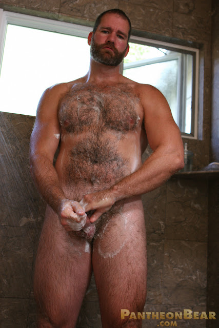 bear gay shower