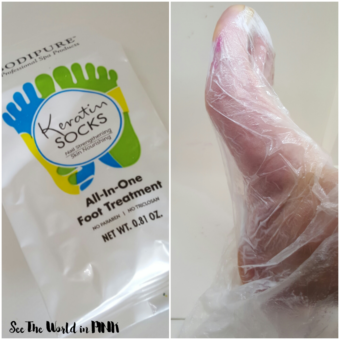 bodypure keratin gloves and socks