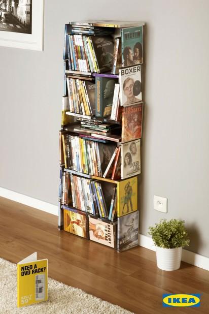 Tapped Inn: Ikea: CD Rack, DVD Rack, Bookcase