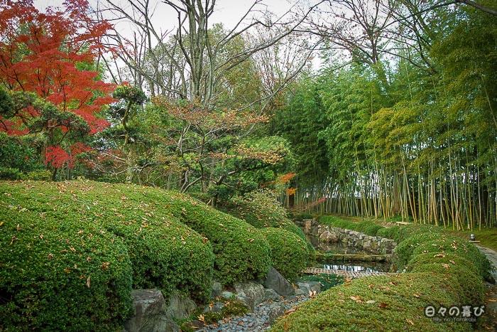 allée principale, jardin Shokado de Yawata, Kyoto
