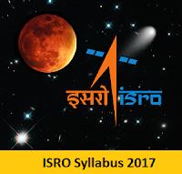 ISRO Syllabus 2017