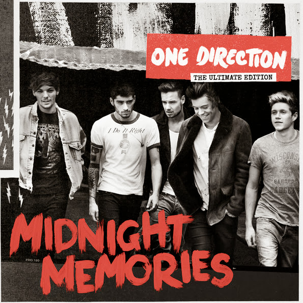 One Direction - Midnight Memories (Deluxe) [Album] Cover