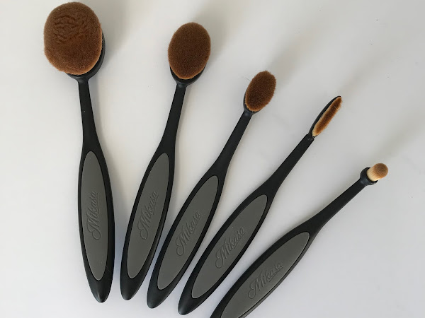Review of Mikasa Techni Makeup Brushes