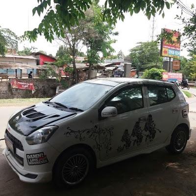Modifikasi Daihatsu Ayla Indonesia