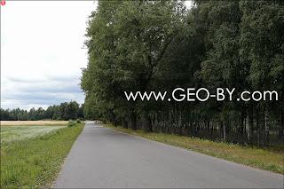 Дорога из Новоселок в Техникум
