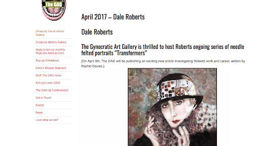 Artist of the Month . . THE Gynocratic Art Gallery