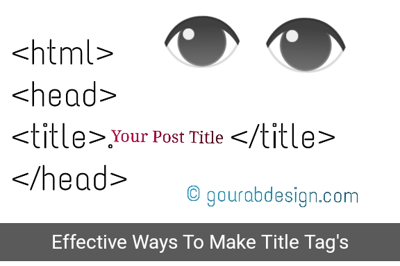 effective ways to make title tags on blogs