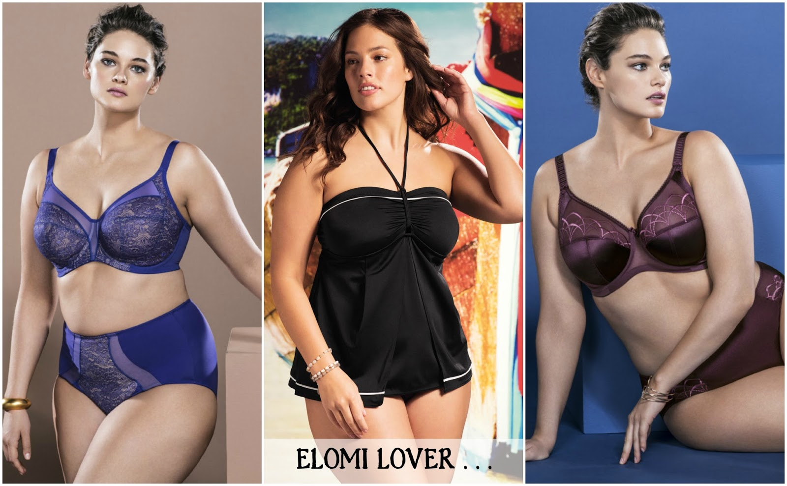 b1339665b95 Elomi Lingerie - Sheer confidence - soft indulgence - and with a new  swimwear collection. If you want plus size lingerie with unparalleled fit