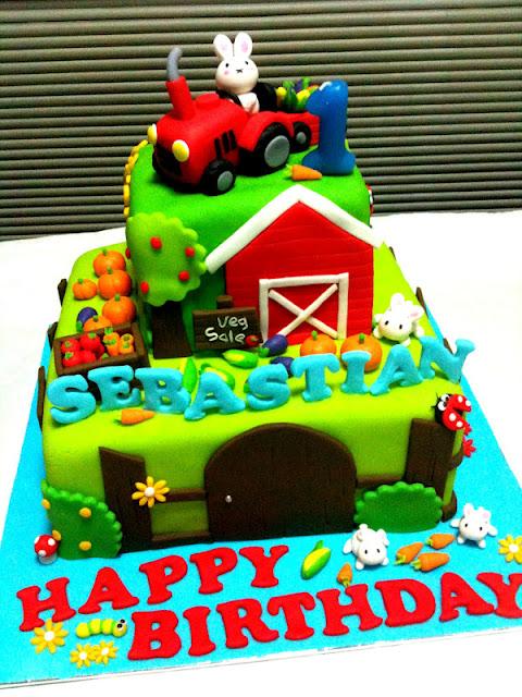 Oven Creations Happy 1st Birthday Sebastian