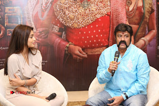 Shriya Saran Nandamuri Balakrishna at Gautamiputra Satakarni Team Press Meet Stills  0186.JPG