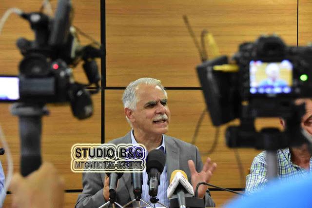 Γ. Μπαλάφας: Δεν καταργούμε Δημάρχους & Περιφερειάρχες