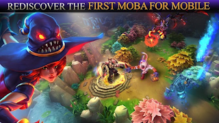 Heroes of Order & Chaos - Game MOBA Android yang mirip Game DotA