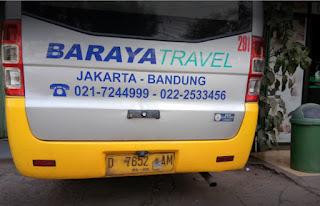 Baraya Travel Bekasi Bandung