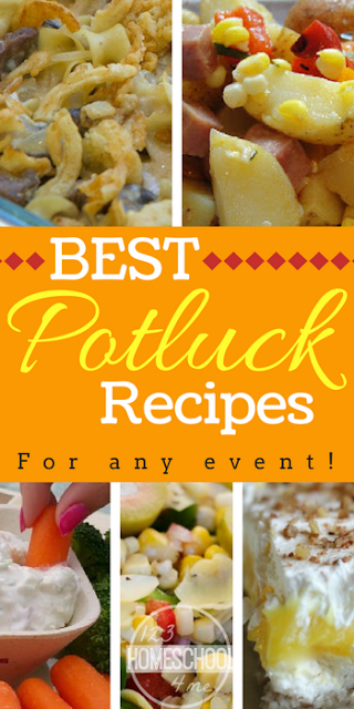 Best Potluck Recipes for any event - over 28 easy to make and transport recipes you'll LOVE!