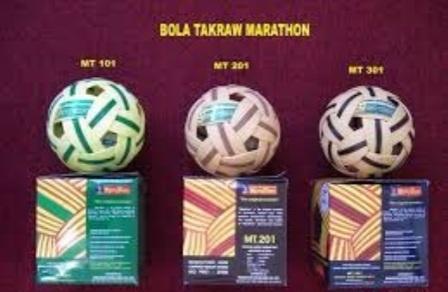 Info daftar harga bola sepak takraw merk bola emas,gajah emas dan marathon
