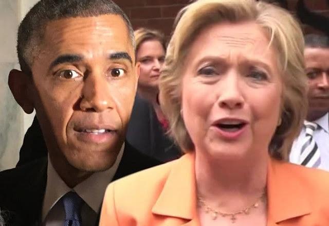 Obama Hilary clinton