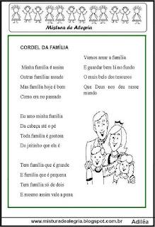 Cordel da família