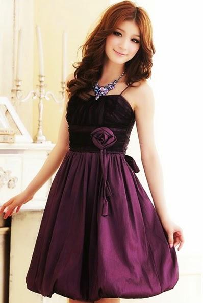 model baju gaun modern