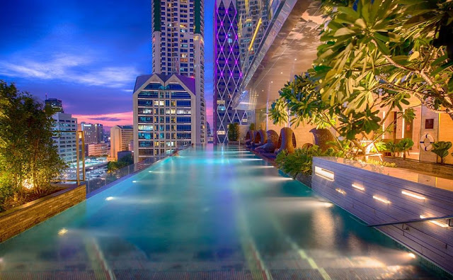 Mejor hotel con piscina en Bangkok
