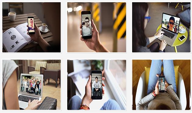 كيفق تقوم بإظهار الصور الشاشة الخاصة بمختلف الأجهزة بإحترافية و سهولة و دون برامج  !!