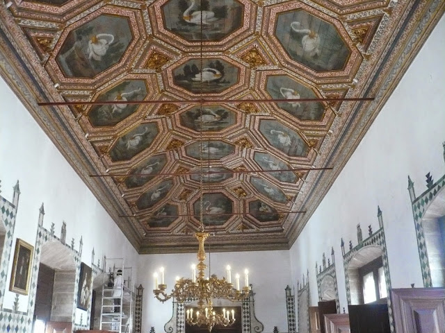 Sala dei cigni palacio nacional Sintra