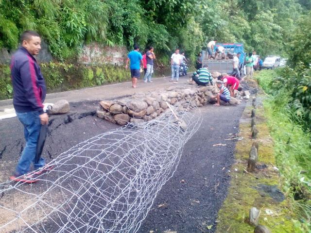 Rains playing spoilsport to road repairs