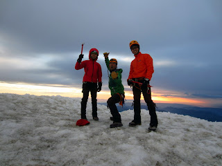 Rainier Summit Photo.