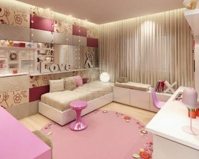 Ideias para decorar um quarto de adolescente num estilo moderno.