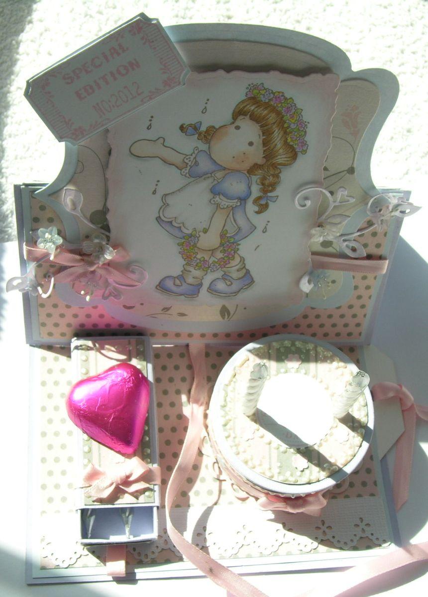 Elegantly Crafted: Happy Birthday Paperlane (Tilda Celebrates Midsumer)