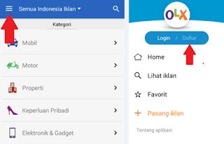 Cara Membuat Akun OLX Di Android