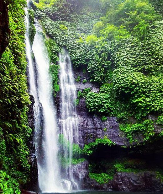 Wisata Air Terjun Lemukih di Sawan Buleleng Bali Informasi Terbaru