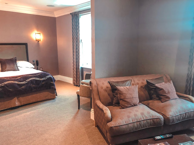 Seaham Hall Hotel Suite