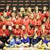 El Club Balonmano Zuazo presenta a sus 200 jugadores en su histórica jornada europea