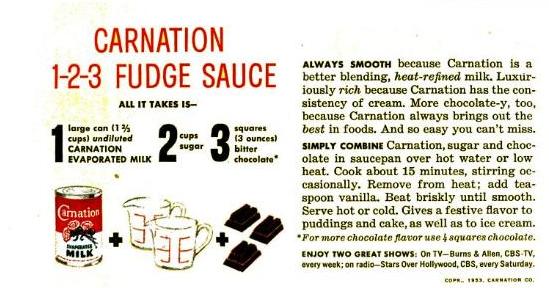 Carnation Famous Evaporated Milk Fudge Recipe  |Carnation Milk Chocolate Fudge