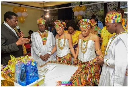 So Wow! Twin Sisters Marry Twin Brothers on the Same Day (See Photos)