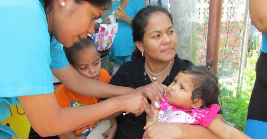 Medio millón de niños menores de 5 años serán inmunizados en campaña de vacunación organizado por el Ministerio de Salud - MINSA - www.minsa.gob.pe