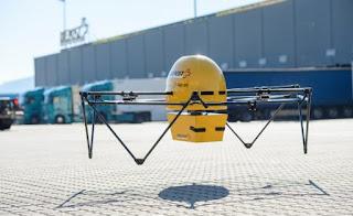 Zwitserse posterijen met commerciële drones